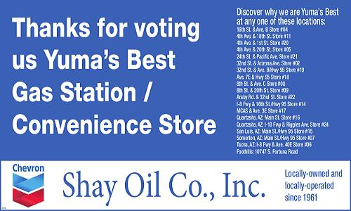 Shay Oil Co , Inc  – Fuelin AZ since 1961
